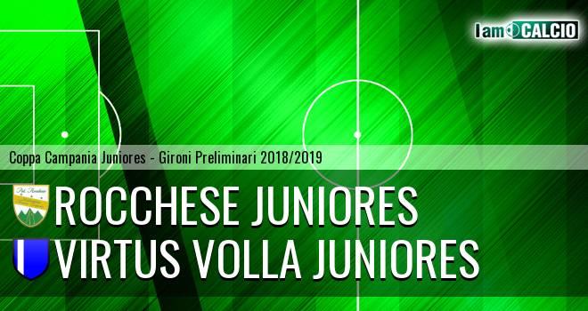 Rocchese Juniores - Virtus Volla Juniores
