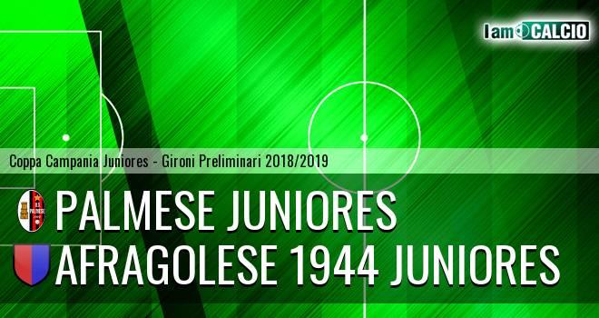 Palmese Juniores - Afragolese 1944 Juniores