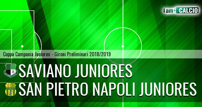 Saviano Juniores - San Pietro Napoli Juniores