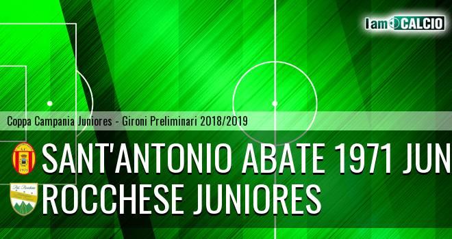 Sant'Antonio Abate 1971 Juniores - Rocchese Juniores