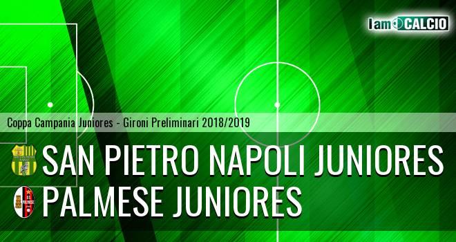 San Pietro Napoli Juniores - Palmese Juniores