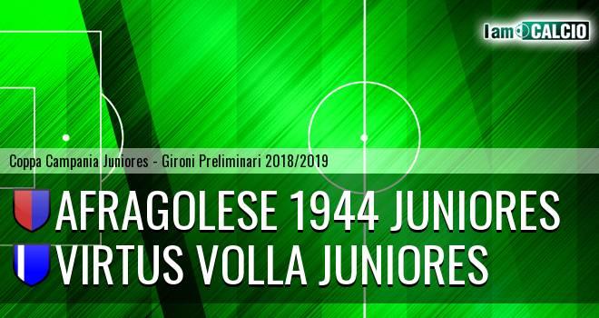 Afragolese 1944 Juniores - Virtus Volla Juniores