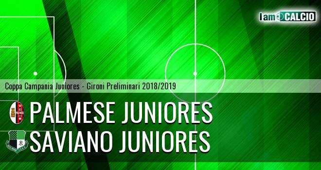 Palmese Juniores - Saviano Juniores