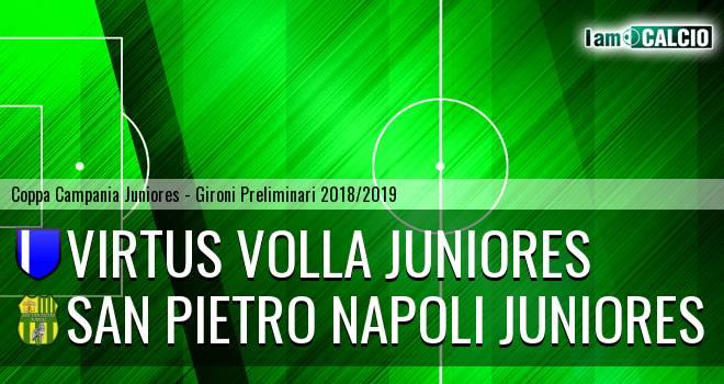 Virtus Volla Juniores - San Pietro Napoli Juniores
