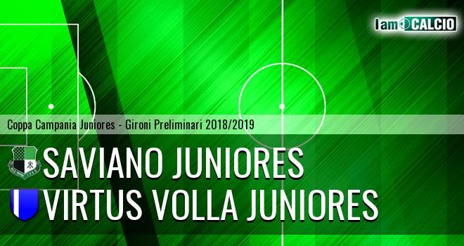 Saviano Juniores - Virtus Volla Juniores