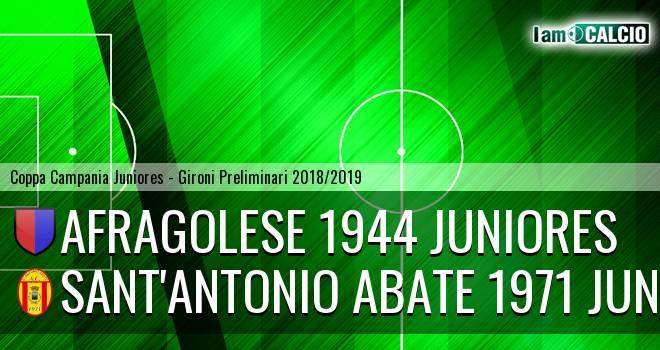 Afragolese 1944 Juniores - Sant'Antonio Abate 1971 Juniores