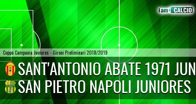 Sant'Antonio Abate 1971 Juniores - San Pietro Napoli Juniores