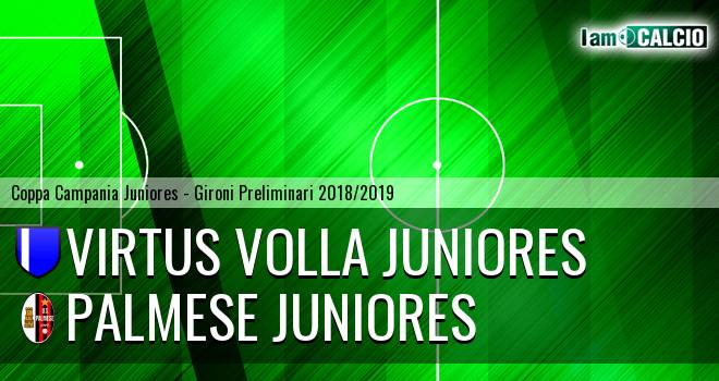 Virtus Volla Juniores - Palmese Juniores