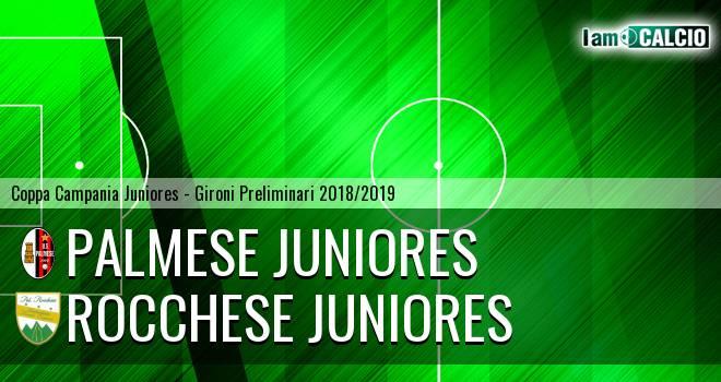 Palmese Juniores - Rocchese Juniores