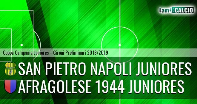 San Pietro Napoli Juniores - Afragolese 1944 Juniores