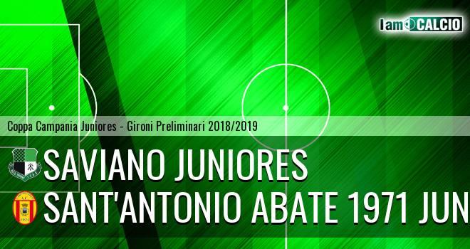 Saviano Juniores - Sant'Antonio Abate 1971 Juniores