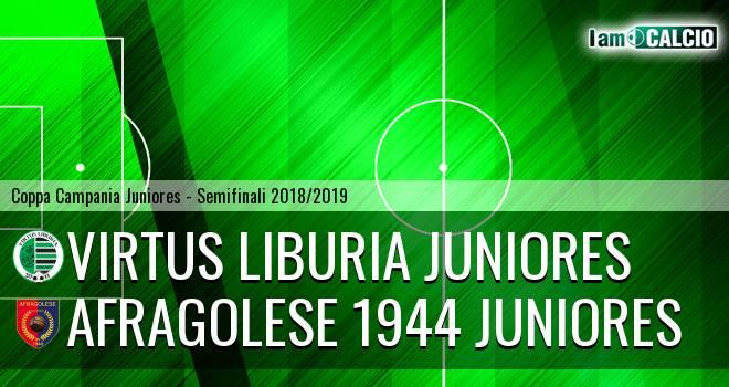 Virtus Liburia Juniores - Afragolese 1944 Juniores