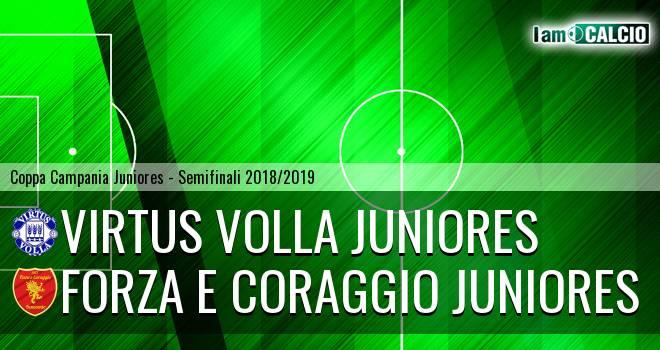 Virtus Volla Juniores - Forza e Coraggio Juniores