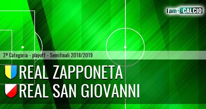 Real Zapponeta - Real San Giovanni