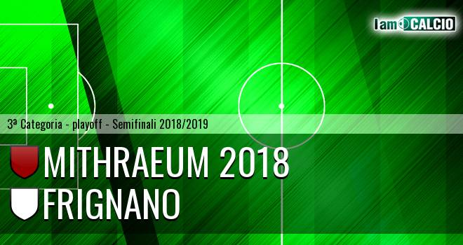 Mithraeum 2018 - Frignano