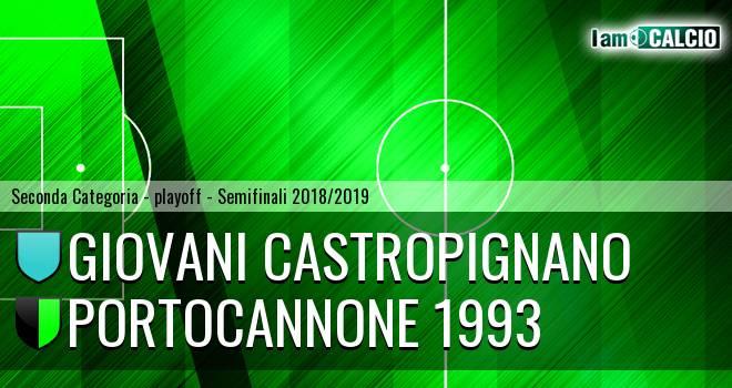 Giovani Castropignano - Portocannone 1993