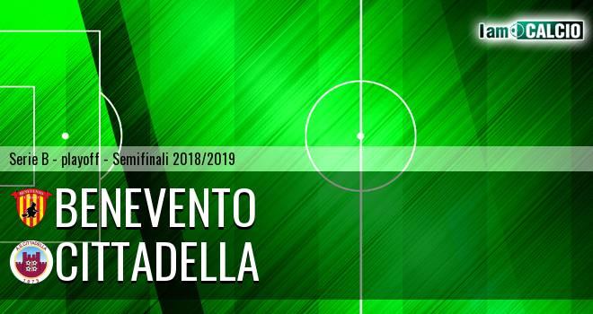 Benevento - Cittadella 0-3. Cronaca Diretta 25/05/2019
