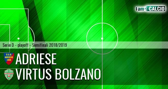 Adriese - Virtus Bolzano