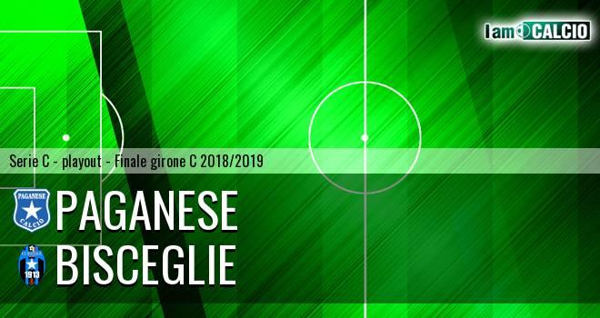 Paganese - Bisceglie 2-1. Cronaca Diretta 18/05/2019