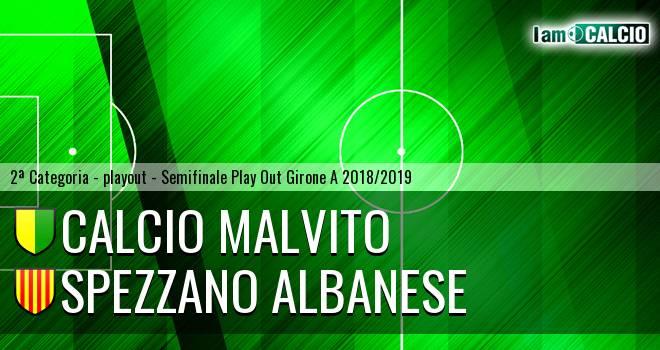 Calcio Malvito - Spezzano Albanese