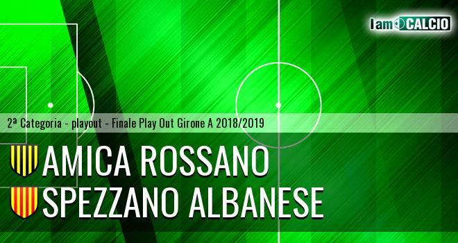 Amica Rossano - Spezzano Albanese