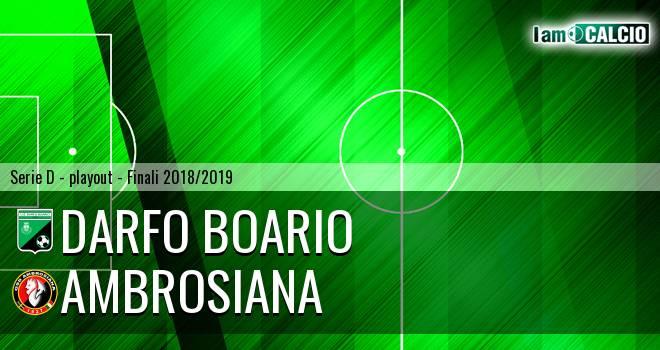 Darfo Boario - Ambrosiana
