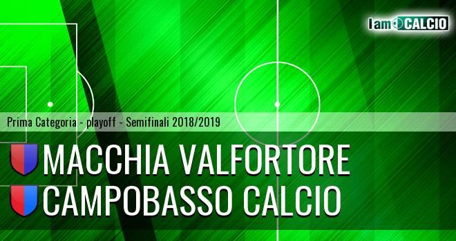 Macchia Valfortore - Campobasso Calcio