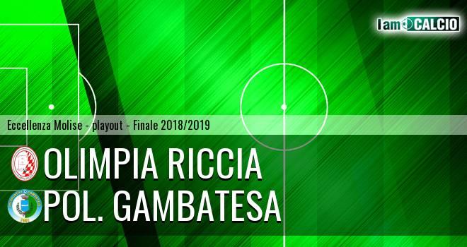 Olimpia Riccia - Polisportiva Gambatesa