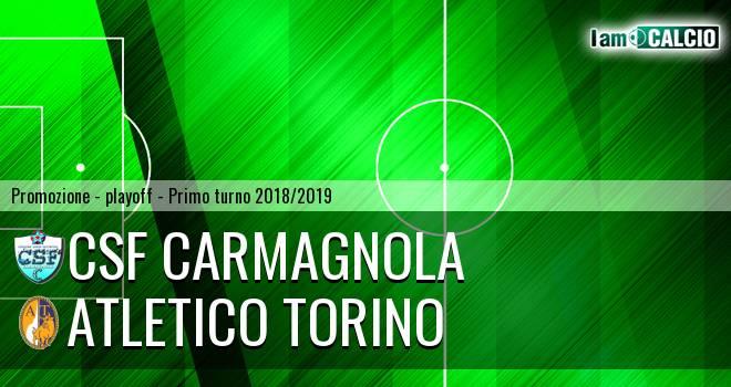 Csf Carmagnola - Atletico Torino