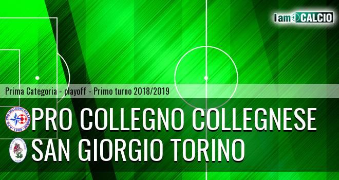 Pro Collegno Collegnese - San Giorgio Torino