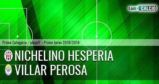 Nichelino Hesperia - Villar Perosa