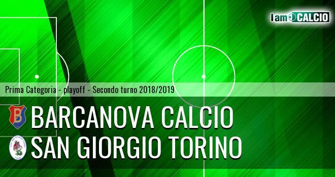 Barcanova Calcio - San Giorgio Torino