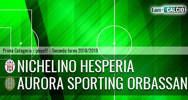 Nichelino Hesperia - Aurora Sporting Orbassano