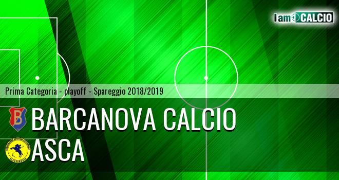 Barcanova Calcio - Asca