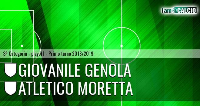 Giovanile Genola - Atletico Moretta