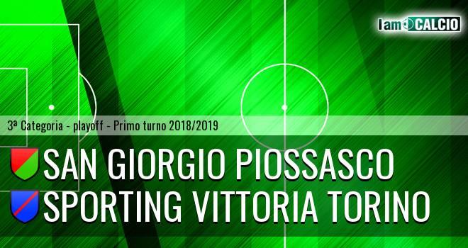 San Giorgio Piossasco - Sporting Vittoria Torino