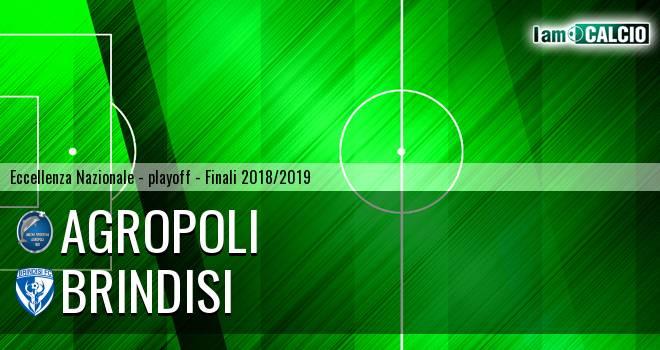Agropoli - Brindisi 1-1. Cronaca Diretta 09/06/2019