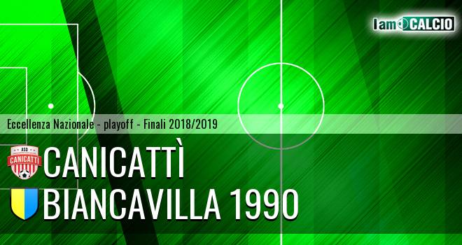 Canicattì - Biancavilla 1990