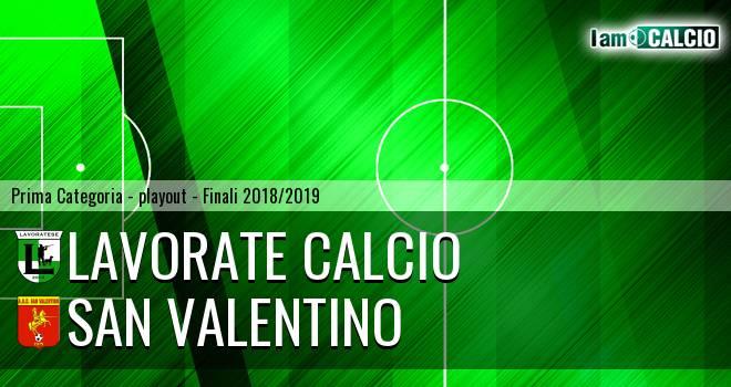Lavorate Calcio - San Valentino