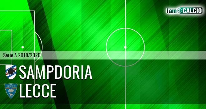 Sampdoria - Lecce 1-1. Cronaca Diretta 30/10/2019