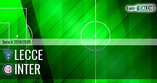 Lecce - Inter 1-1. Cronaca Diretta 19/01/2020