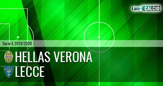 Hellas Verona - Lecce
