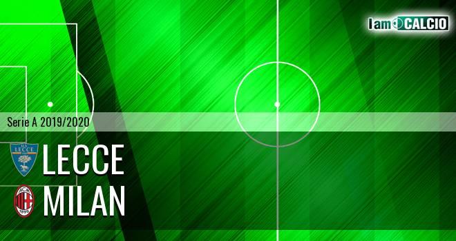 Lecce - Milan 1-4. Cronaca Diretta 22/06/2020