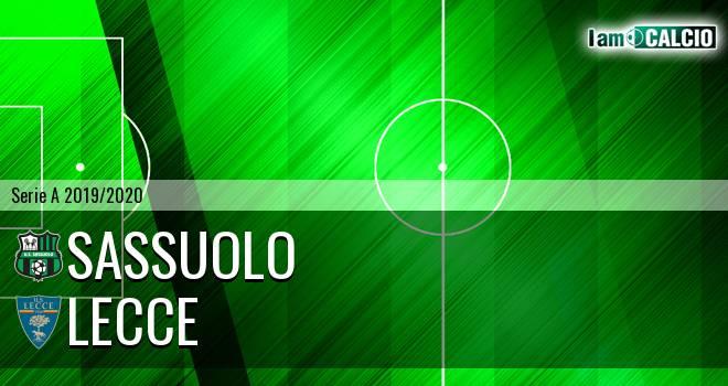 Sassuolo - Lecce 4-2. Cronaca Diretta 04/07/2020