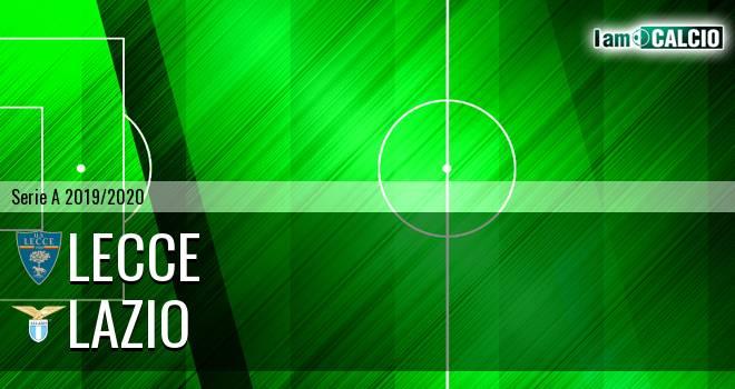 Lecce - Lazio 2-1. Cronaca Diretta 07/07/2020