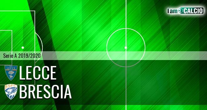 Lecce - Brescia 3-1. Cronaca Diretta 22/07/2020
