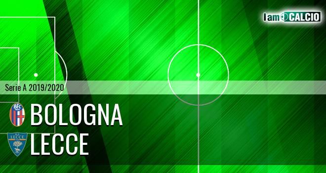 Bologna - Lecce 3-2. Cronaca Diretta 26/07/2020