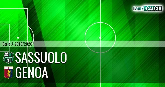 Sassuolo - Genoa
