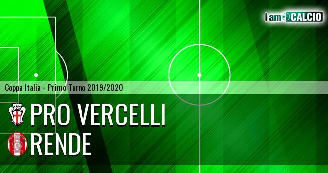 Pro Vercelli - Rende