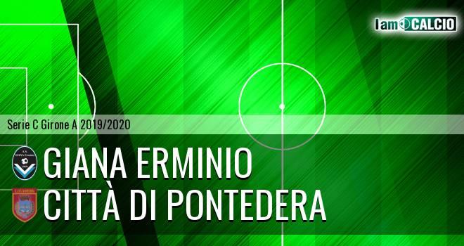 Giana Erminio - Città di Pontedera